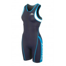 Aropec Ladies Panther Blue 1 Piece Lycra Tri Suit