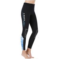 Dive & Sail 1.5mm Ladies Neoprene Leggings Blue Design