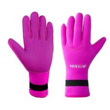 3mm Pink Neoprene Gloves