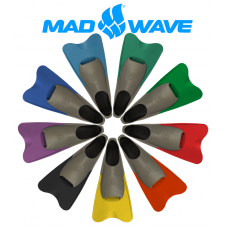 Mad Wave Swim Fins Short Blade