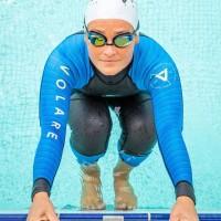 Volare V1 Womens Triathlon Wetsuit - Deep Ocean